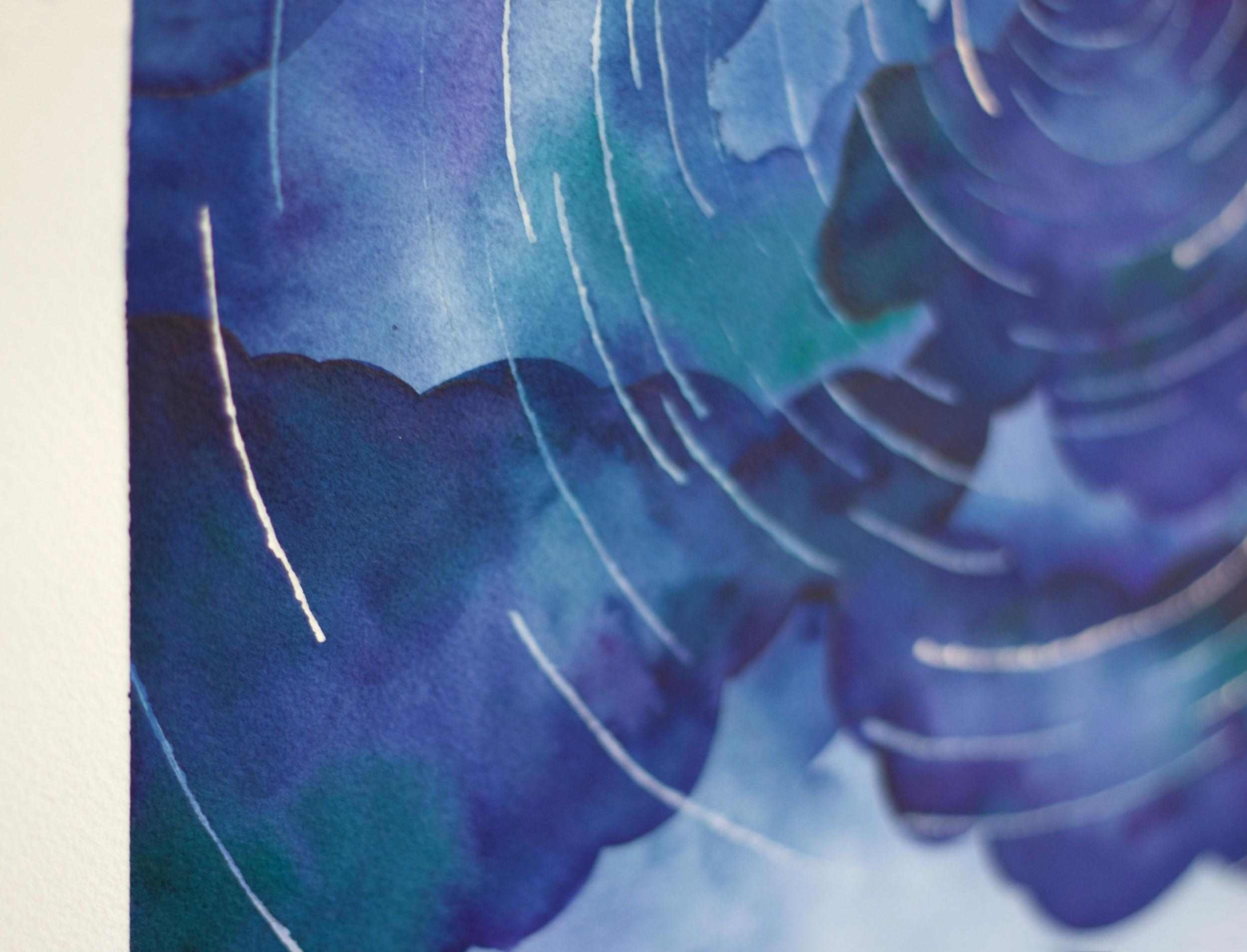 Paper by JLee: Night Sky Watercolor
