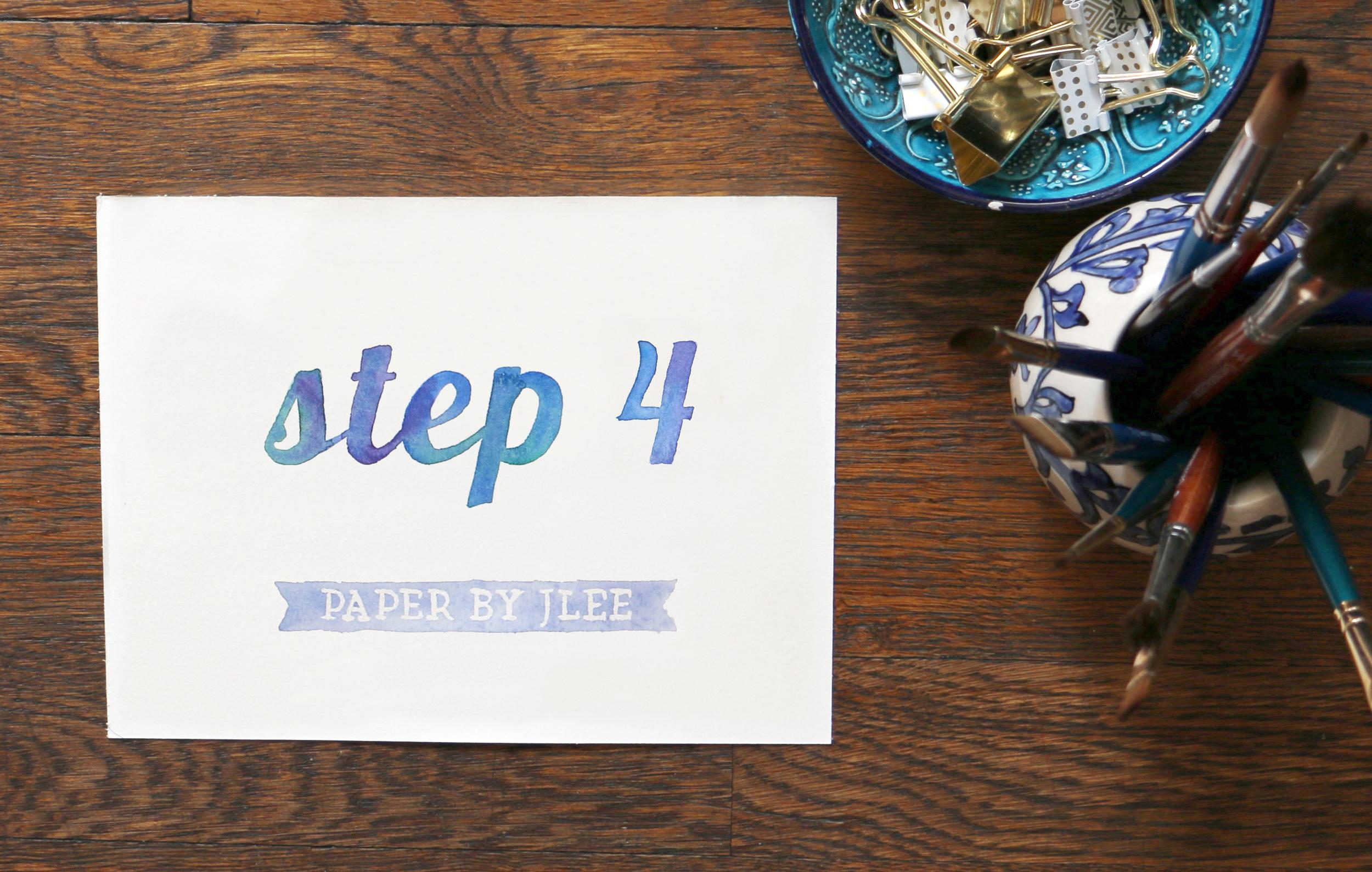 Paper by JLee: Step 4