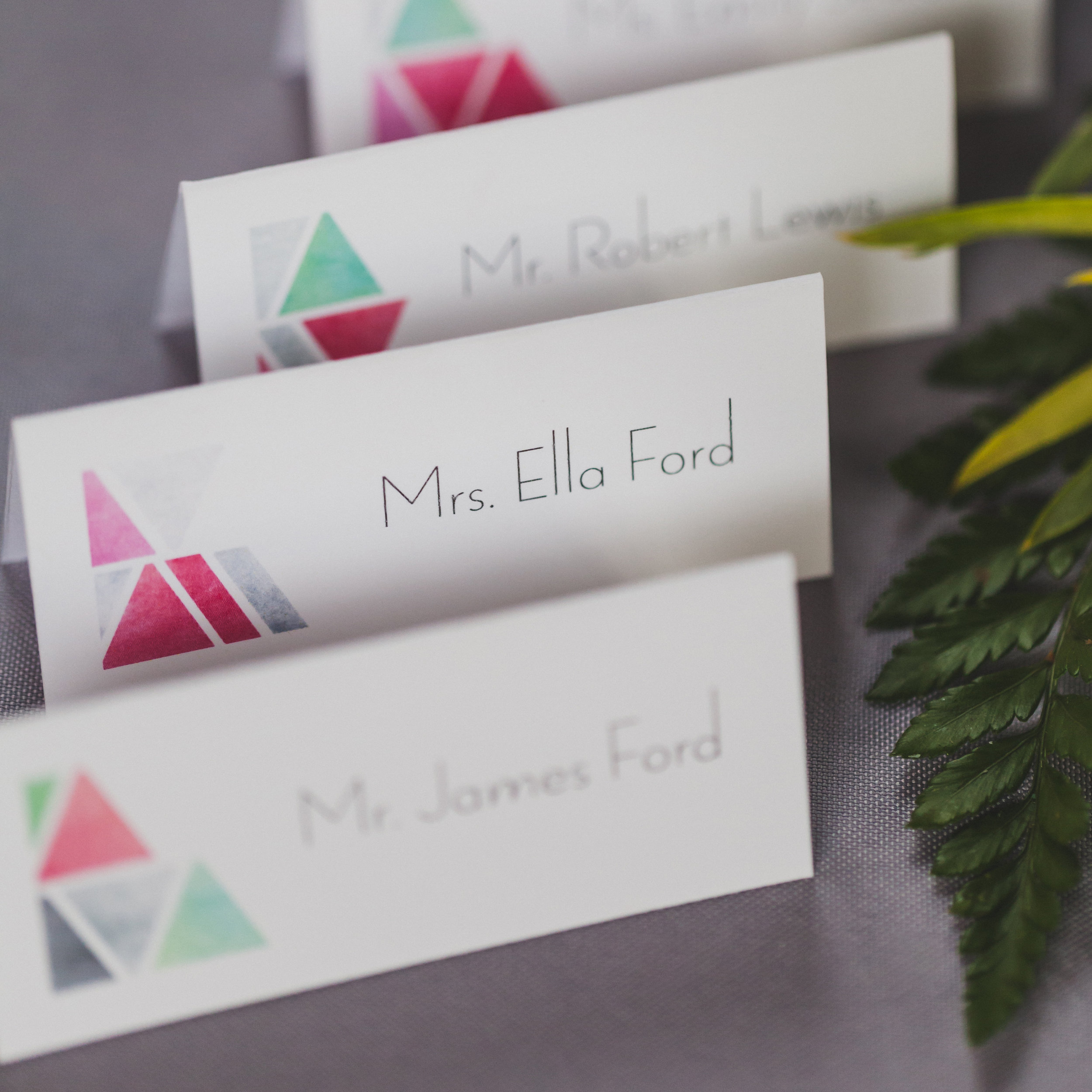 Place cards from the style shoot.  Photo Credit:   Elvira Kalviste