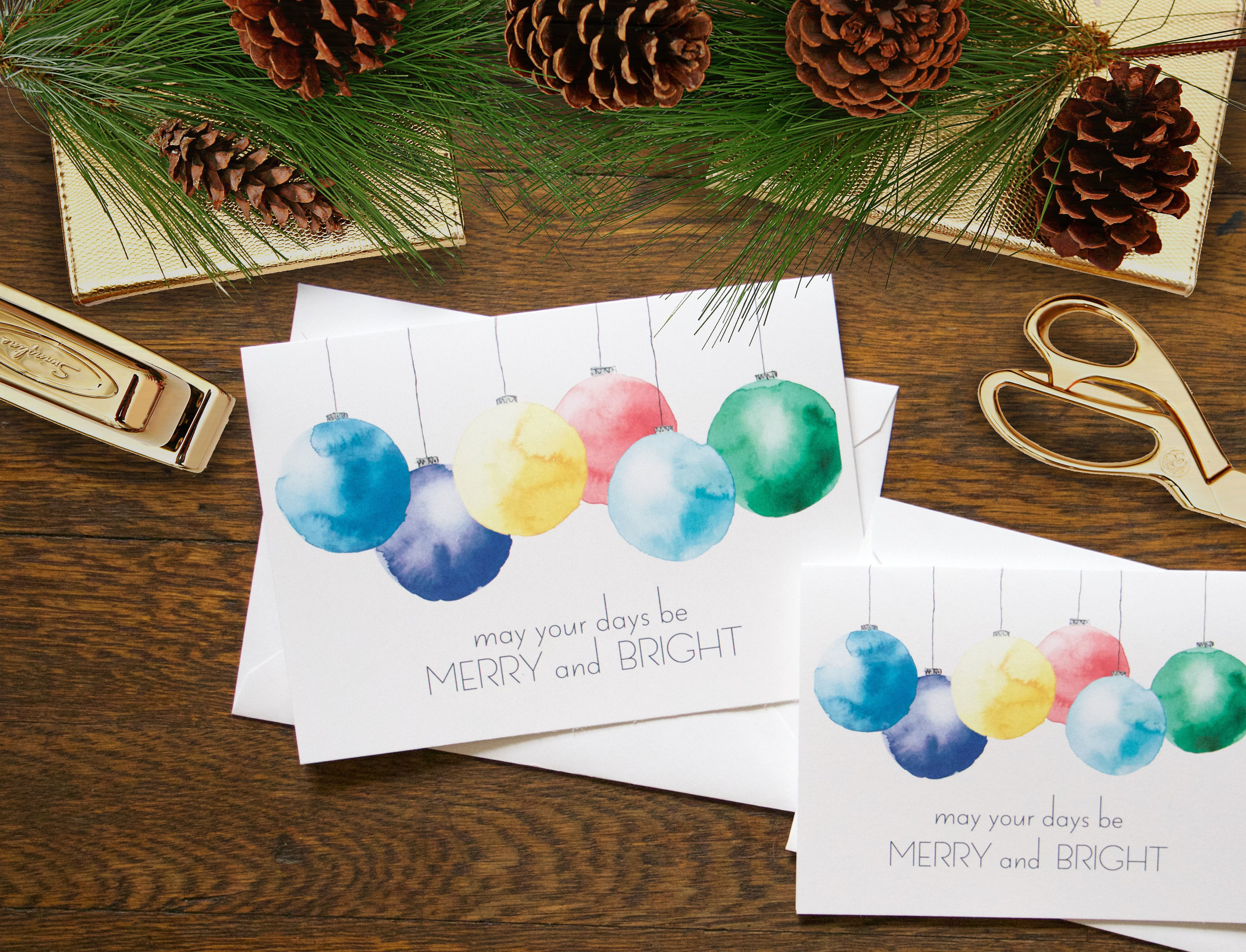 Merry and Bright Stationery