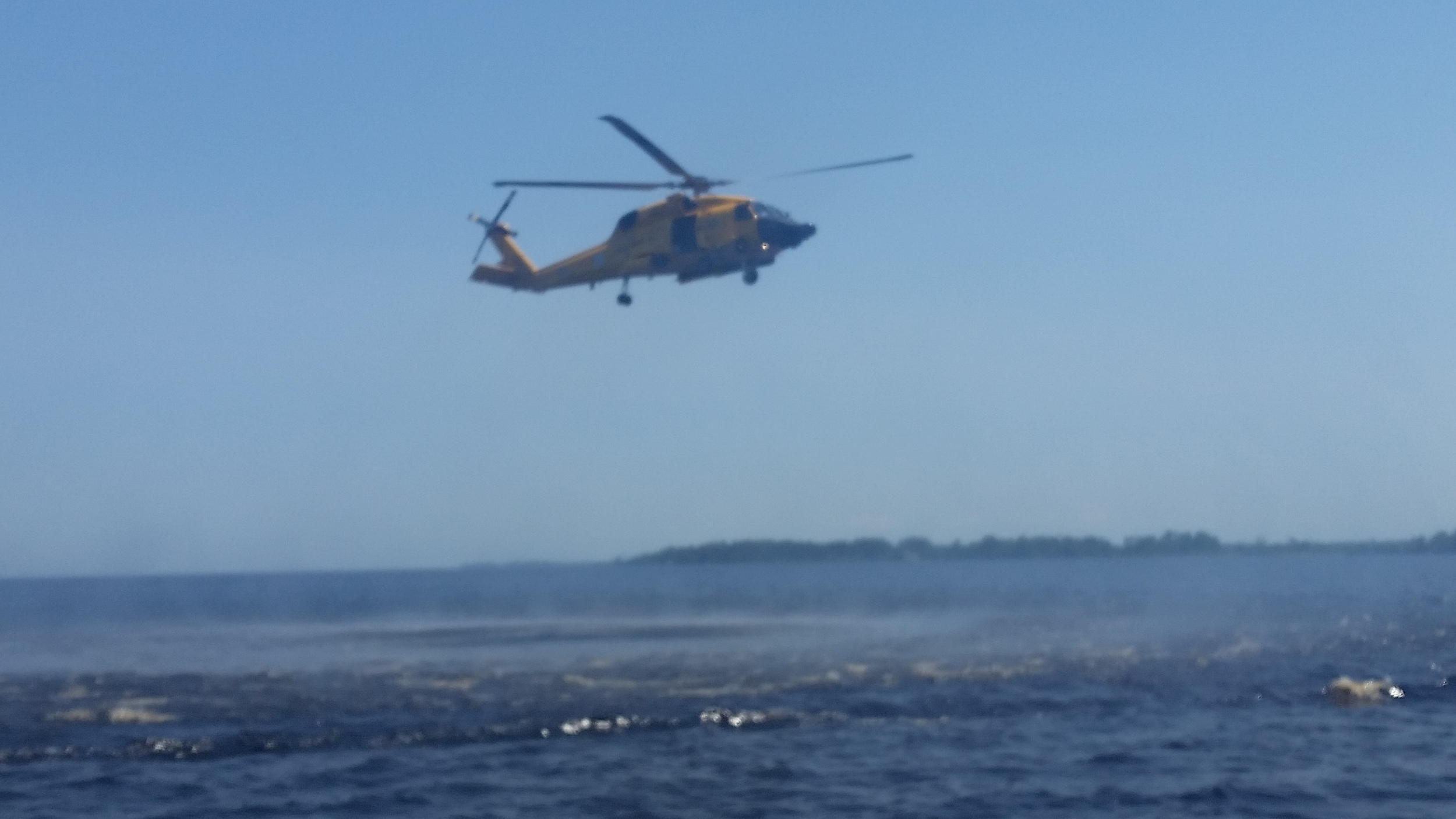 MH-60T practicing hoists