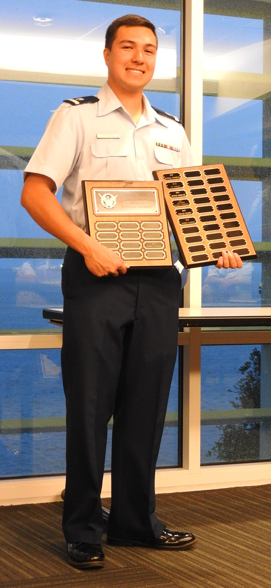 Andrew Manning - Max Pro Auxiliarist of the Year (Flotilla 51)