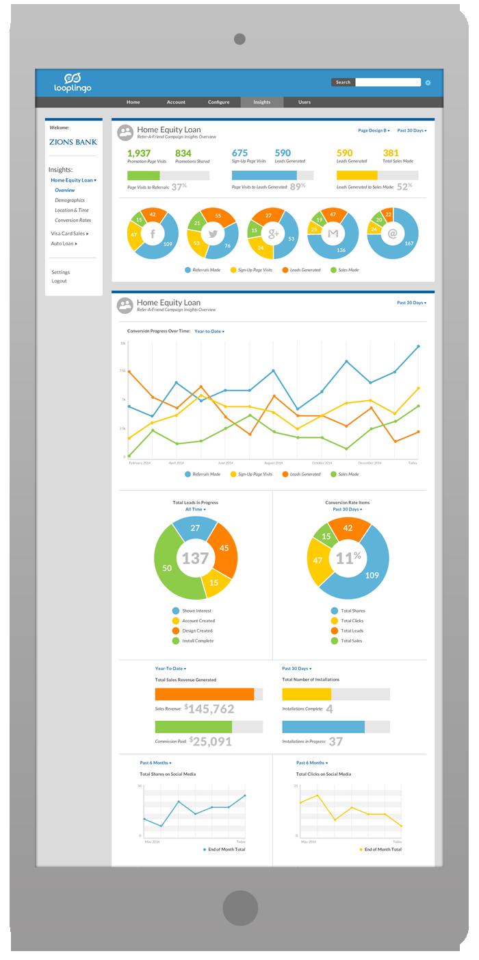 Merchant Portal Interface Design - Overview