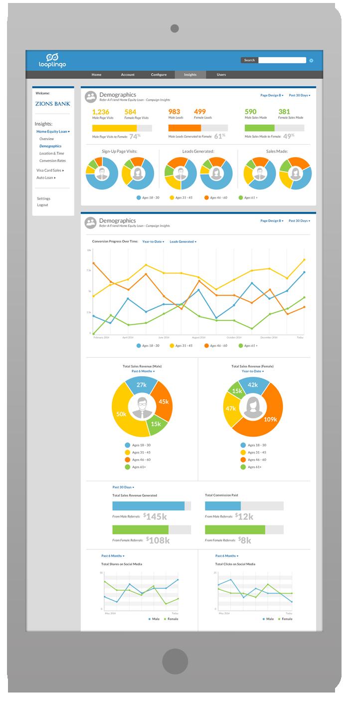 Merchant Portal Software Design - Demographic Metrics