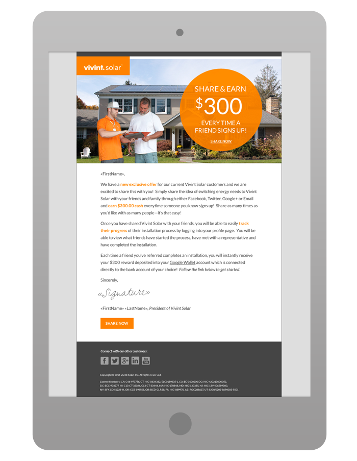Promotional Email Template - For Current Customers and Leads