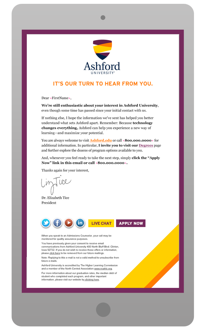 Email Template Design - Lead Generation