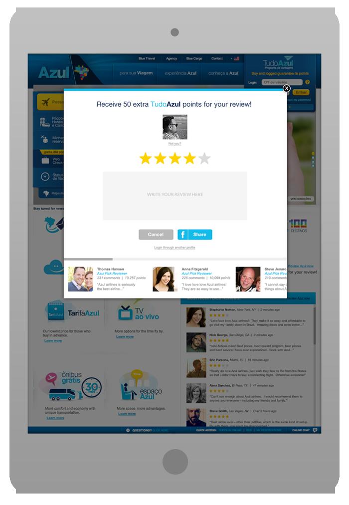 Software Integration Design -  Review Blue - ReviewPop-Up