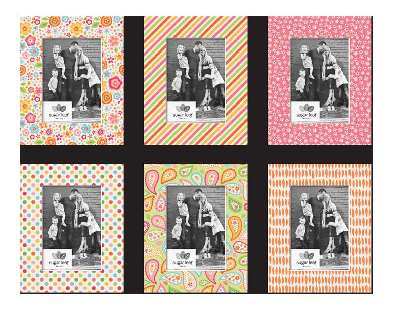 Designer Sunshine Matte Boards - Product Design & Packaging