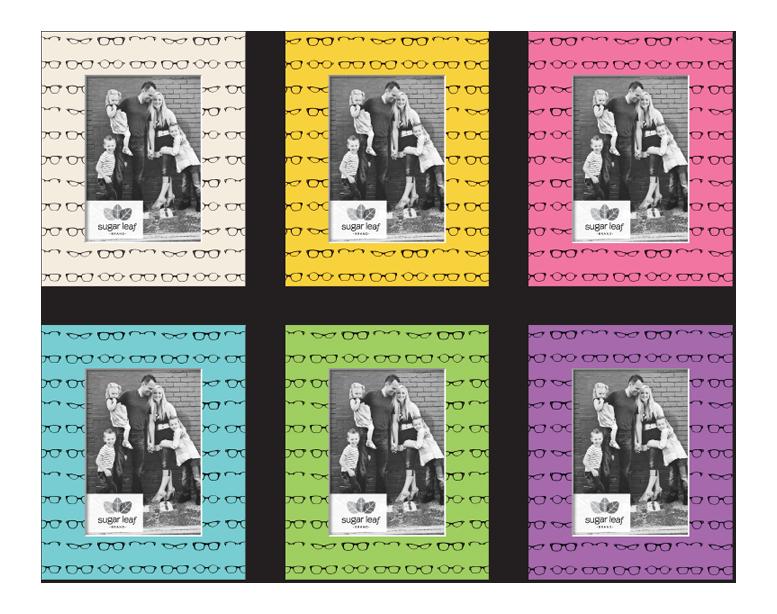 Designer Glasses Matte Boards - Product Design & Packaging