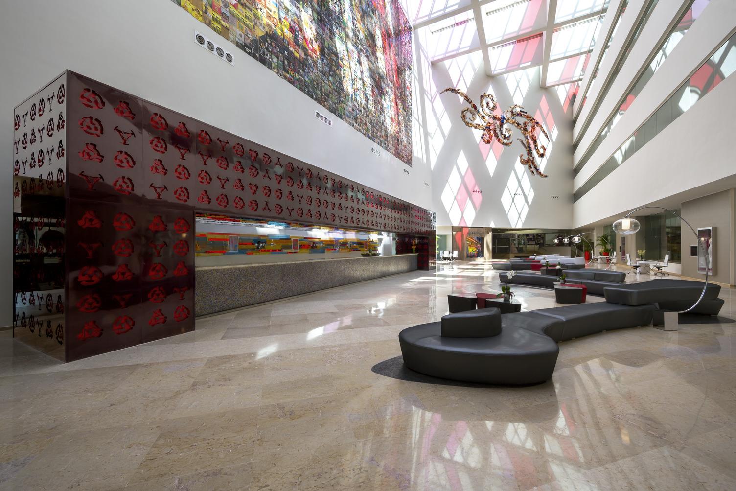 HRH Vallarta Hotel Lobby from 1st Floor 082215.jpg