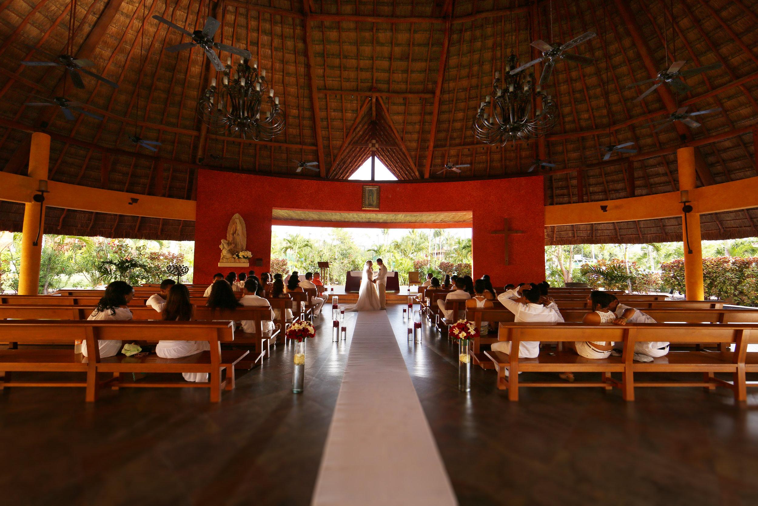 Catholic wedding in Mexico