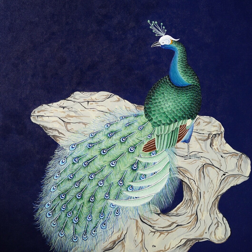"""Peacock"", 2016"