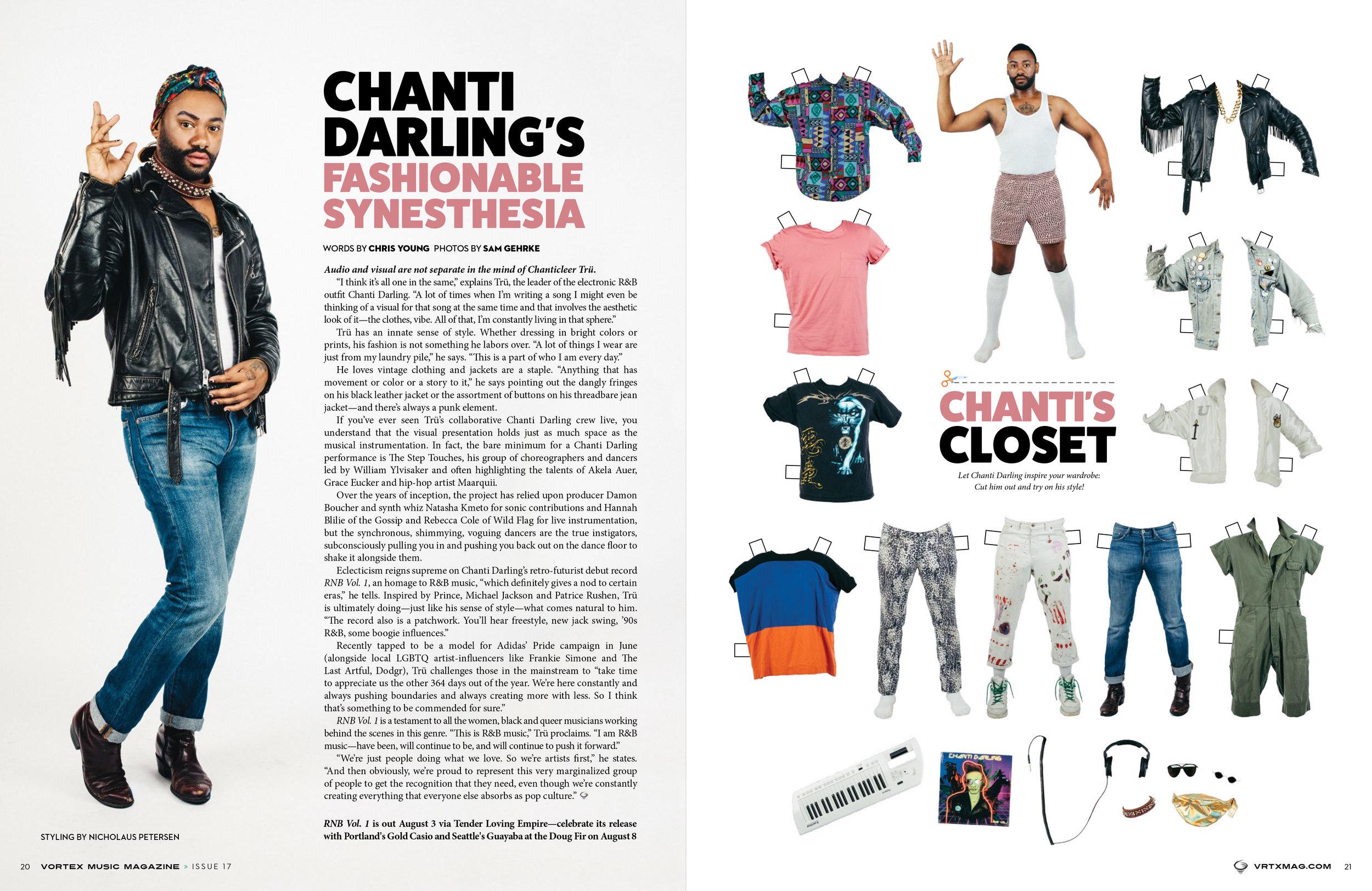 Chanti Darling for Vortex Music Magazine