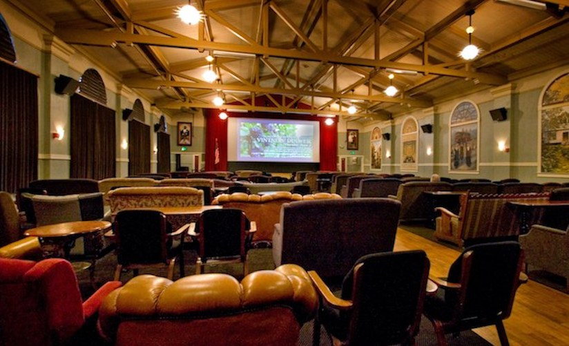 McMenamins' Kennedy School Theater. Our first film, NorthEast Passage premiered at the Kennedy School way back in 2002.