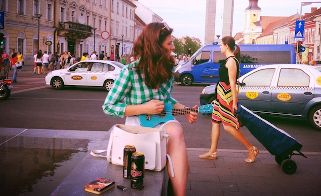 """Cluj is experiencing """"hipsterfication"""" among other """"neo-liberal"""" market pressures. Photo from  Ukulele Road Trip."""