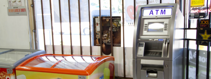 Free ATM placement for a local Convenience Store in Los Angeles, Ca