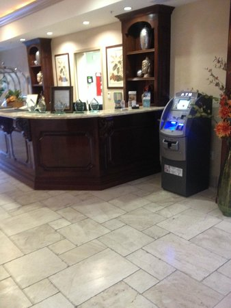 Free ATM Placement at a motel check in counter Los Angeles, CA