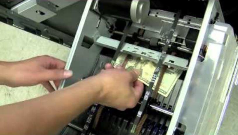 ATM cassette bill jam repair Los Angeles California