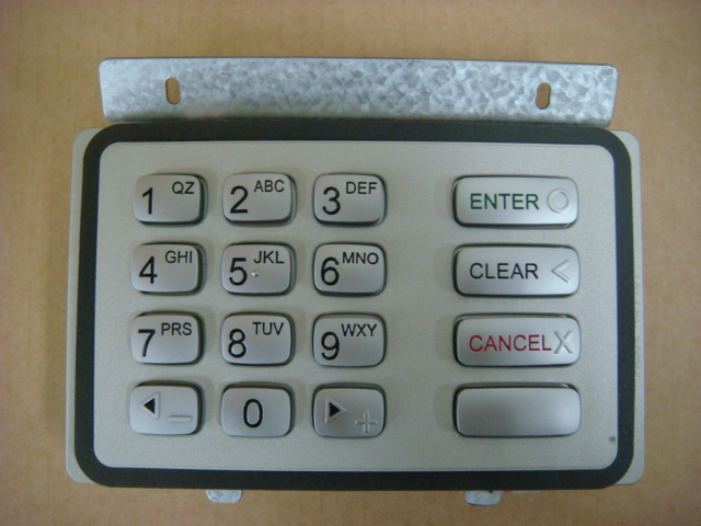 Buy ATM Keypad replacement parts online.  Emerald ATM also repairs and installs ATM Keypads in Los Angeles, CA.