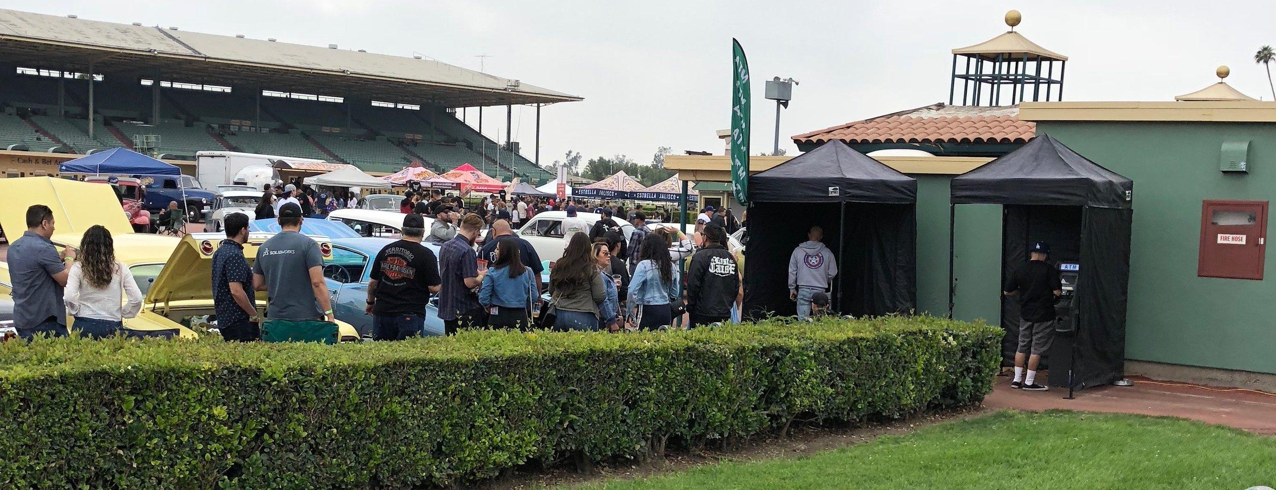 Santa Anita Race Track Car Show