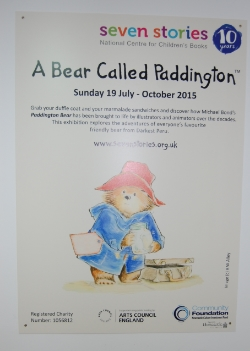 Full of images of the lovable bear across the years, the exhibition includes original art work from Peggy Fortnum. Some of the early copies of the books on display brought back so many memories as they were the versions we had when I was young.