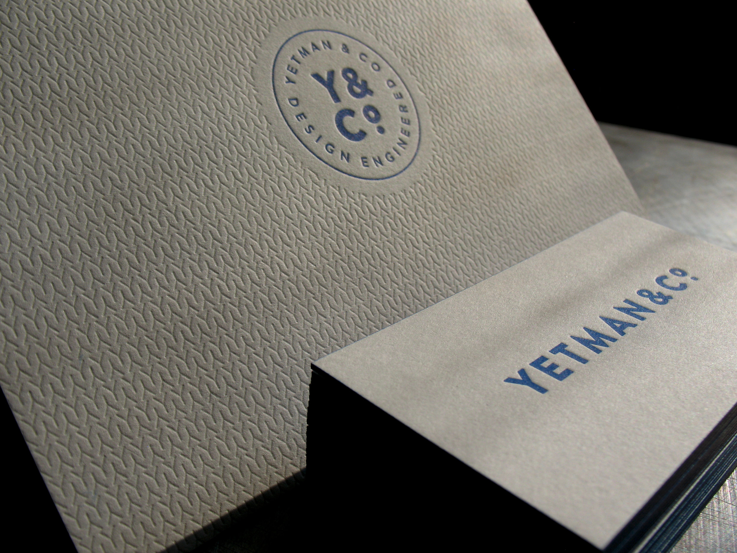 Yetman & Co. Business Card and Note Card
