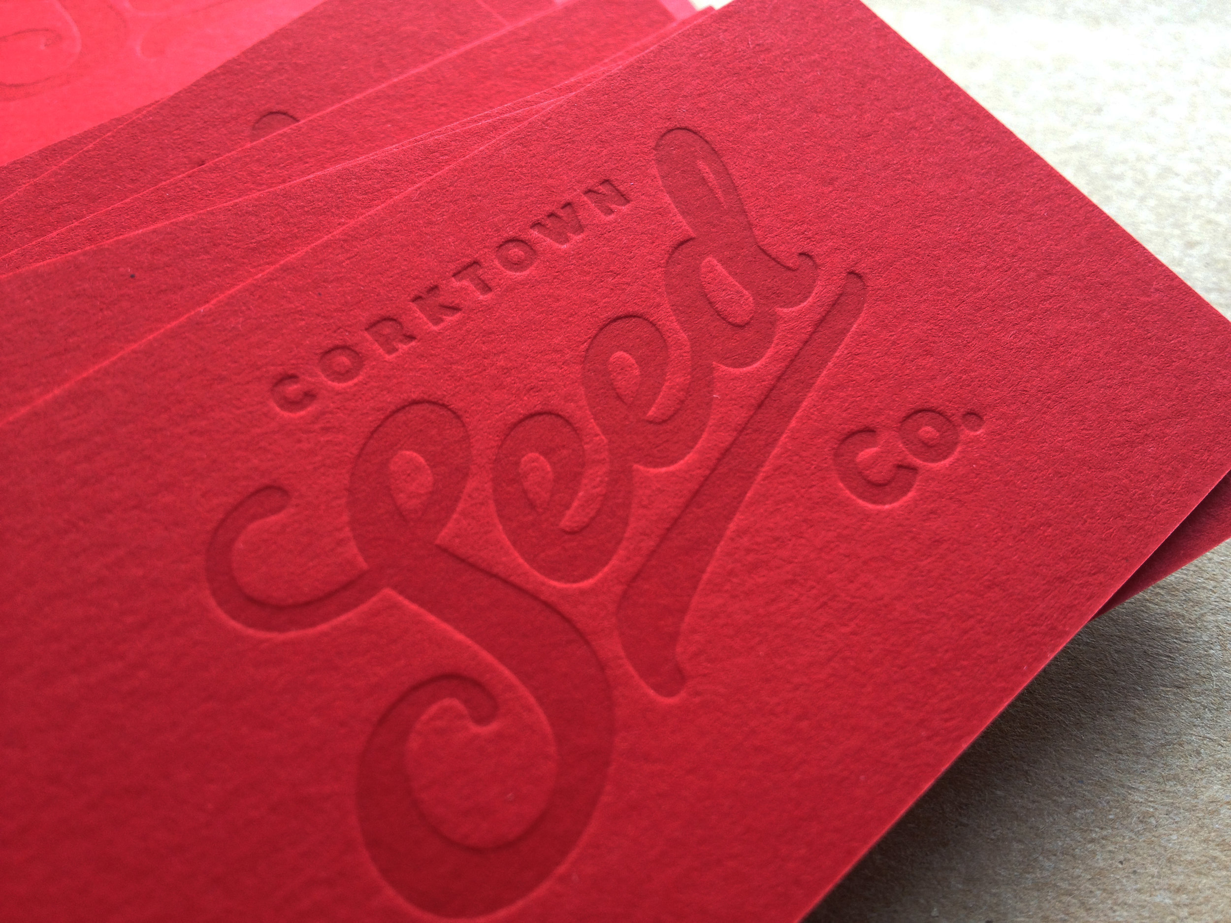 Corktown Seed Co. Business Card