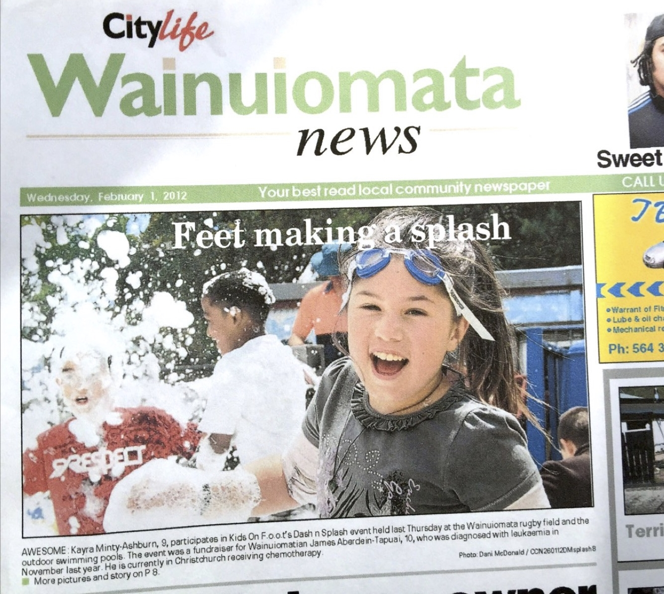 splash n dash wainui news cover.jpg