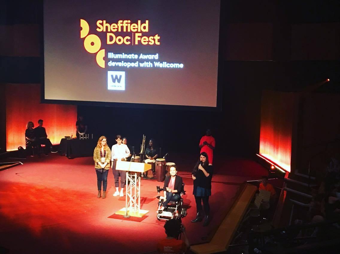 Unrest Sheffield Illuminate Award stage.jpeg