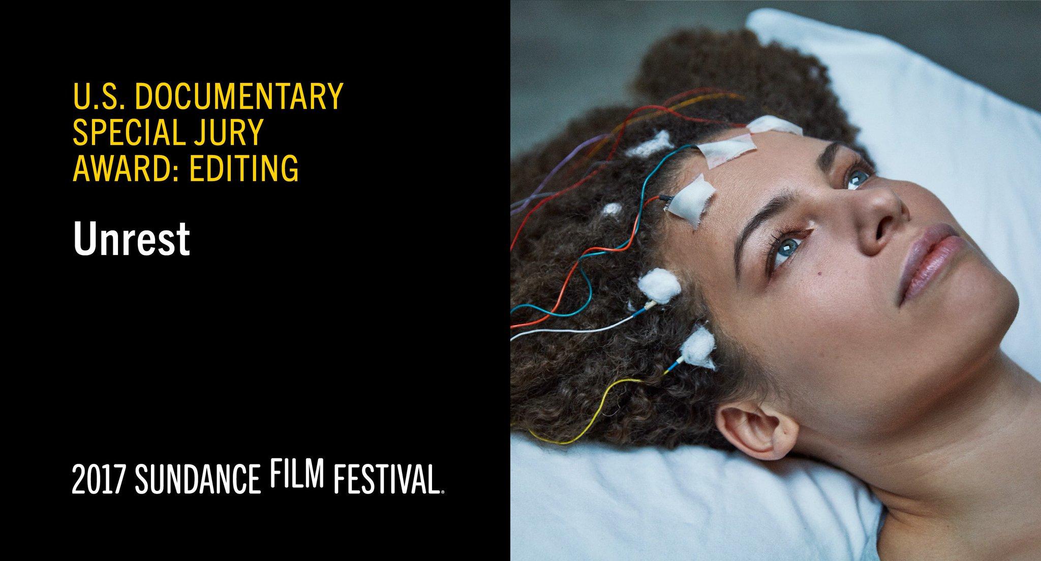 Unrest 2017 image Sundance award.png