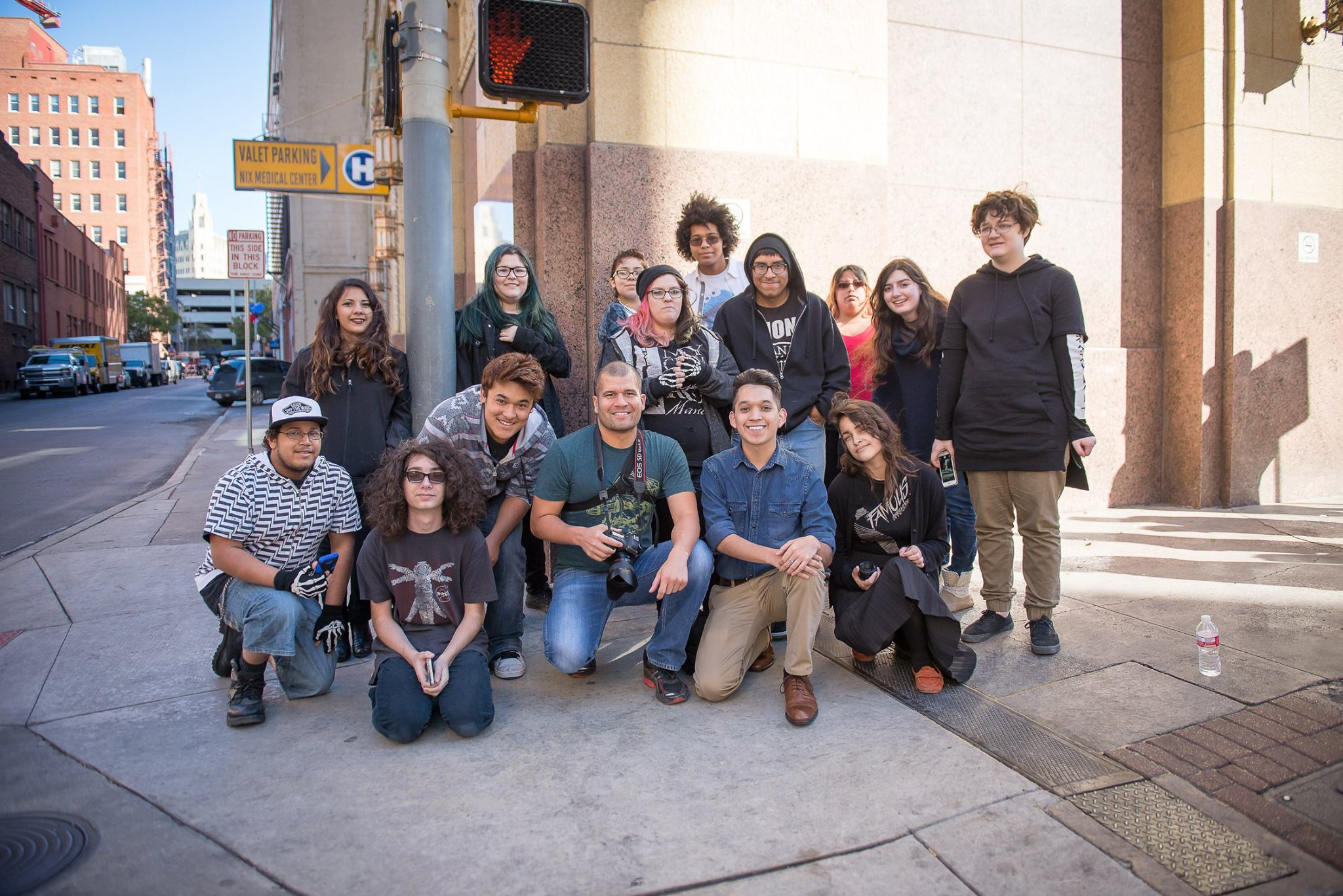 Photography Workshop by Michael Cirlos with Henry Ford Academy Alameda School of Art and Design photography students in 2016.