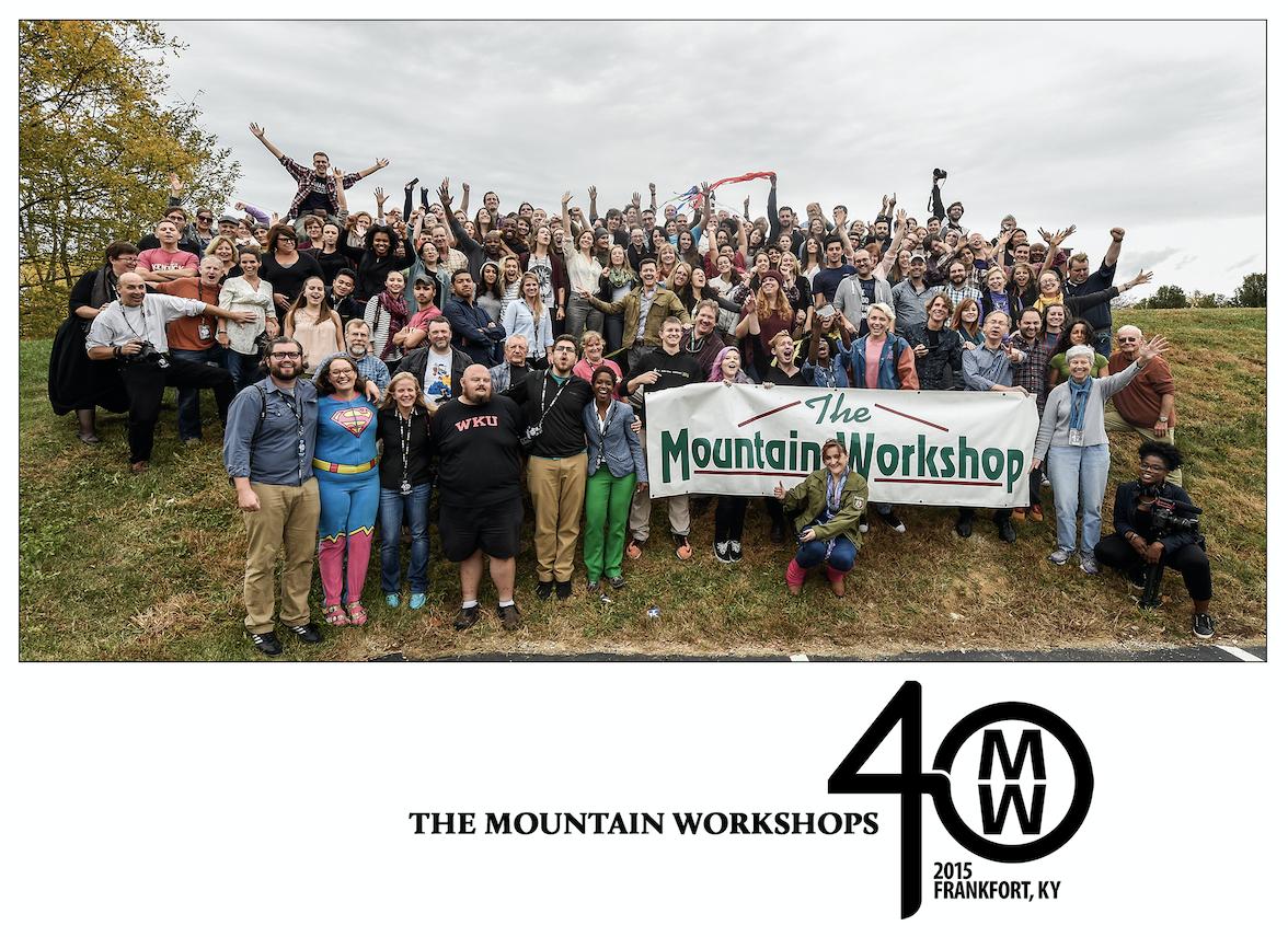 2015 Mountain Workshops' graduating class.