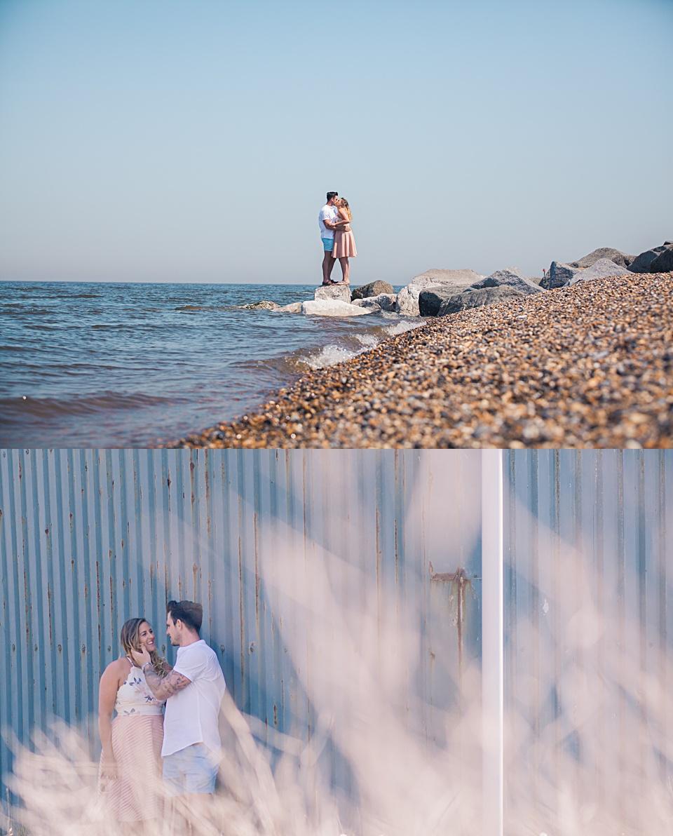 seaside photography, engagement, Kent wedding, couple photography