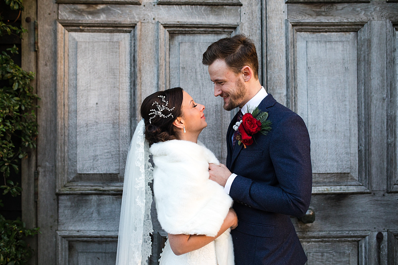 Bride and Groom portrait, Kent wedding photographer