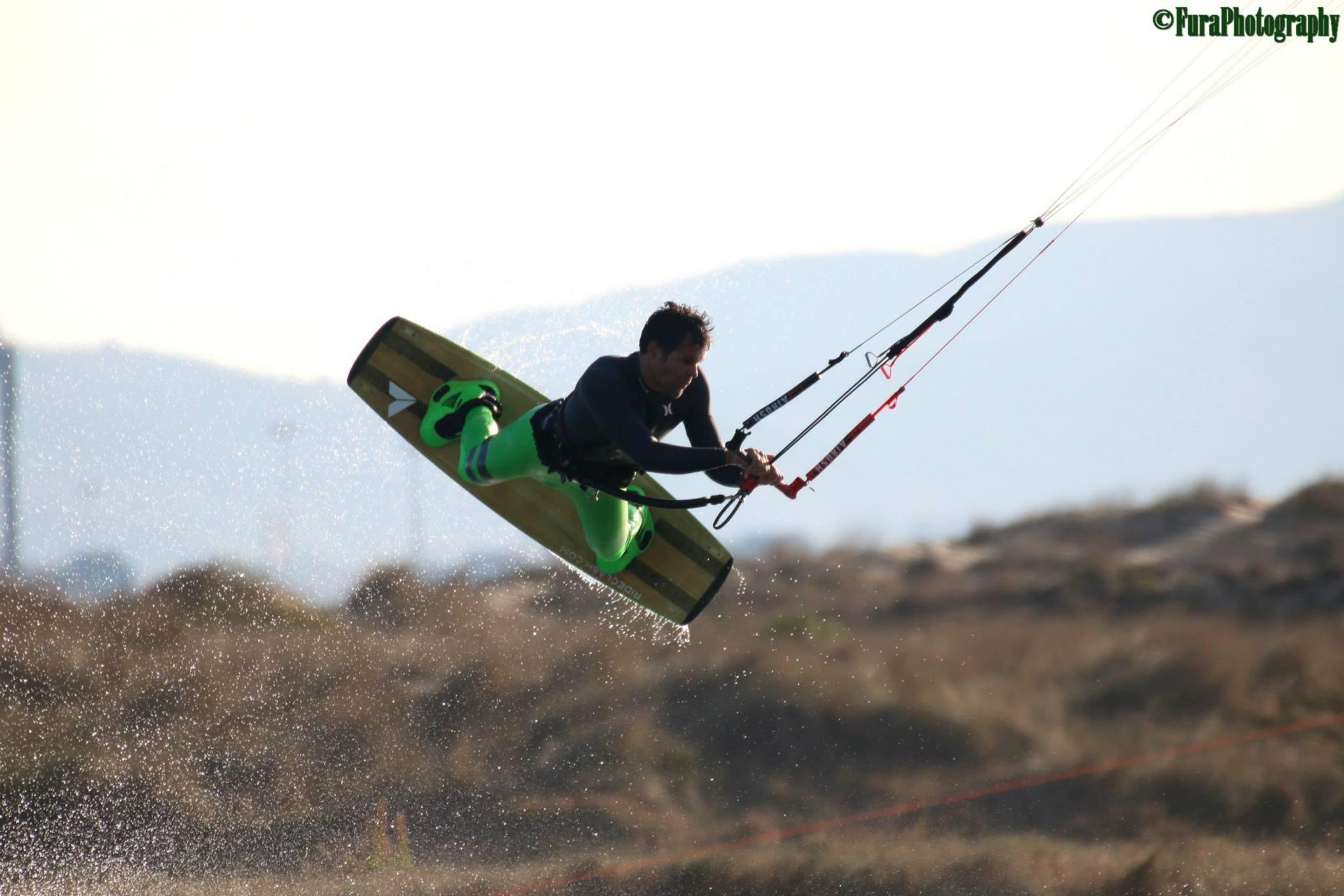 Armando Puerta | Tarifa Spain  Veteran Kiteboarder