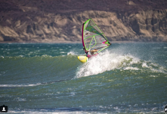 Elise Gire | Mexico & USA  Windsurf