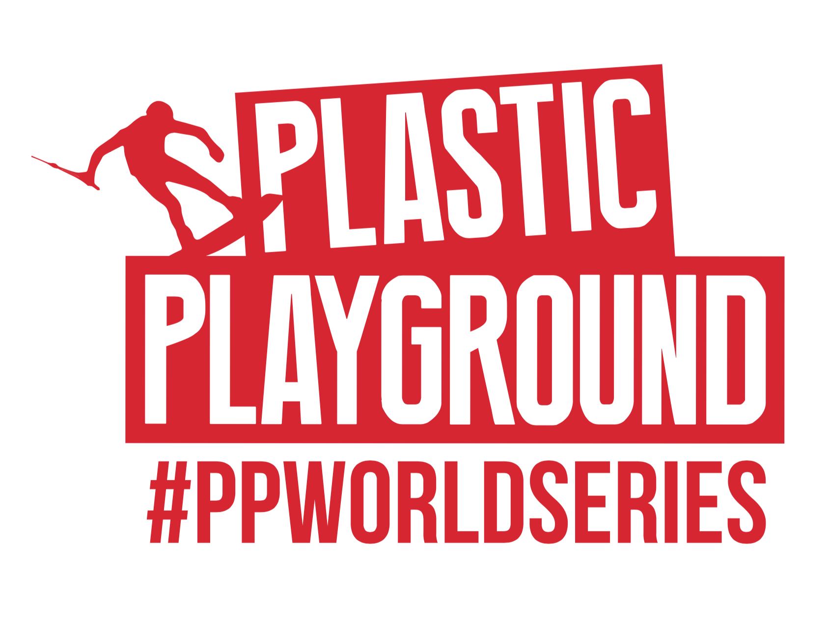 Plastic playground logo