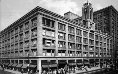 Sibley Tower Building circa 1920s
