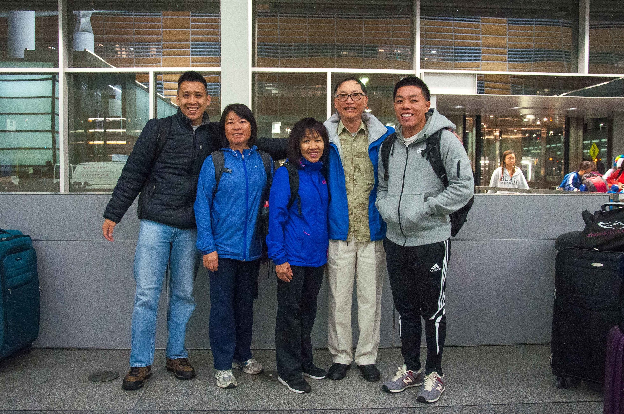 the STM team:Samuel Mak, Connie Kwong, Liana & Albert Mung, Jason Ching