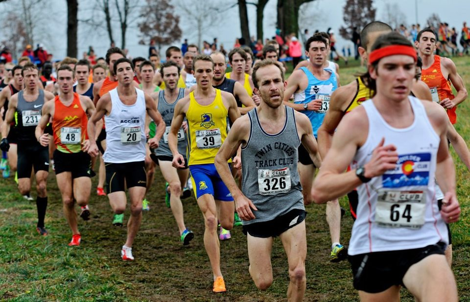 The start of the 2012 USATF CLub Cross Country Championships.