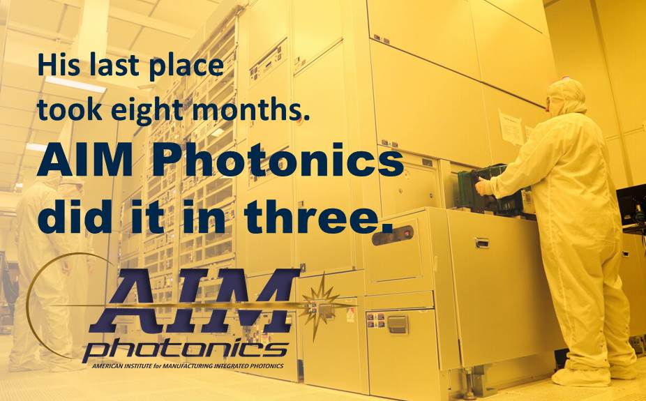 SUNY Polytechnic's 300mm state of the art semiconductor research clean room and Head Quarters for AIM Photonics Photonic Integrated Chip development