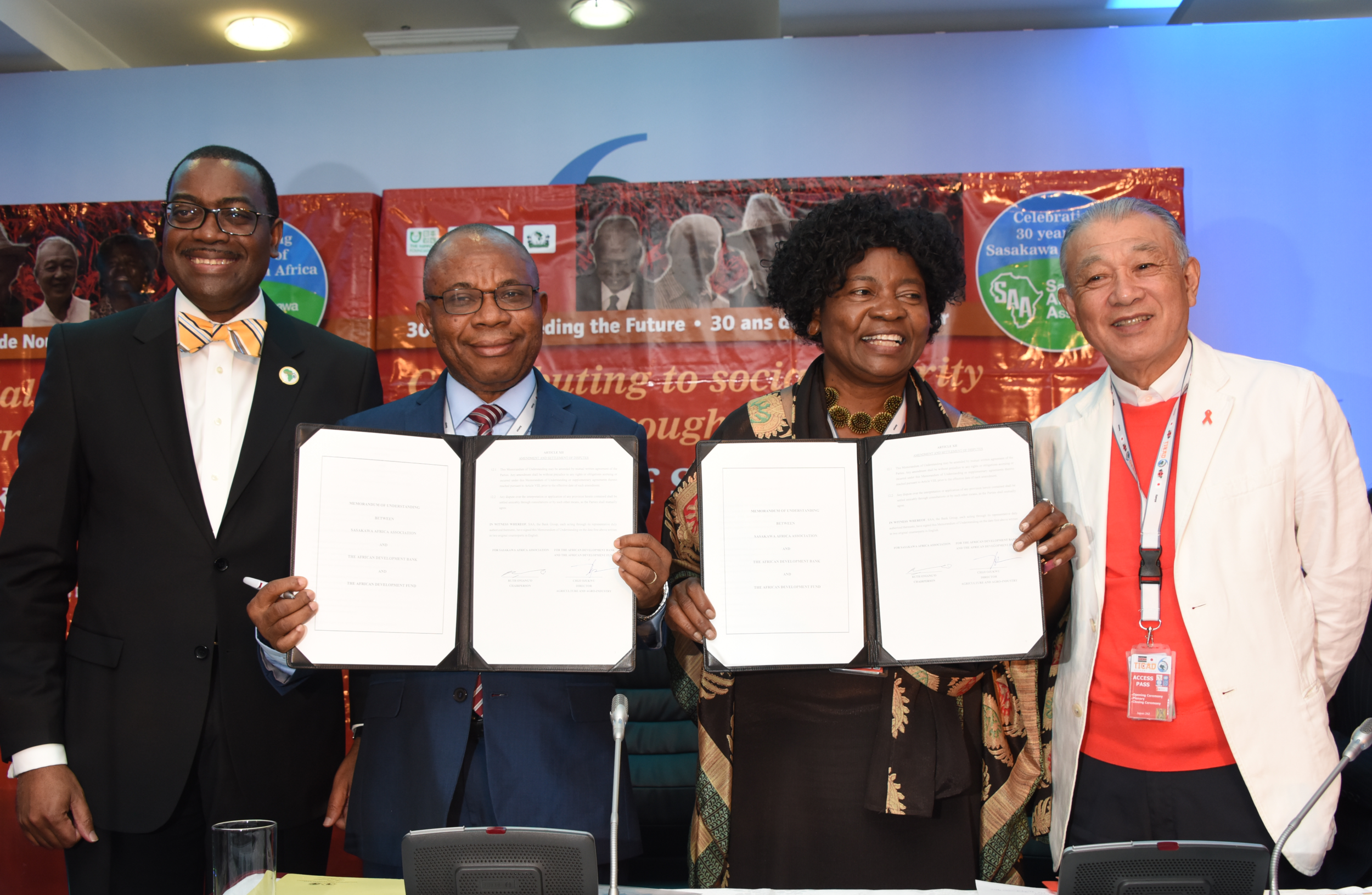 A Memorandum of Understanding is signed with the African Development Bank.