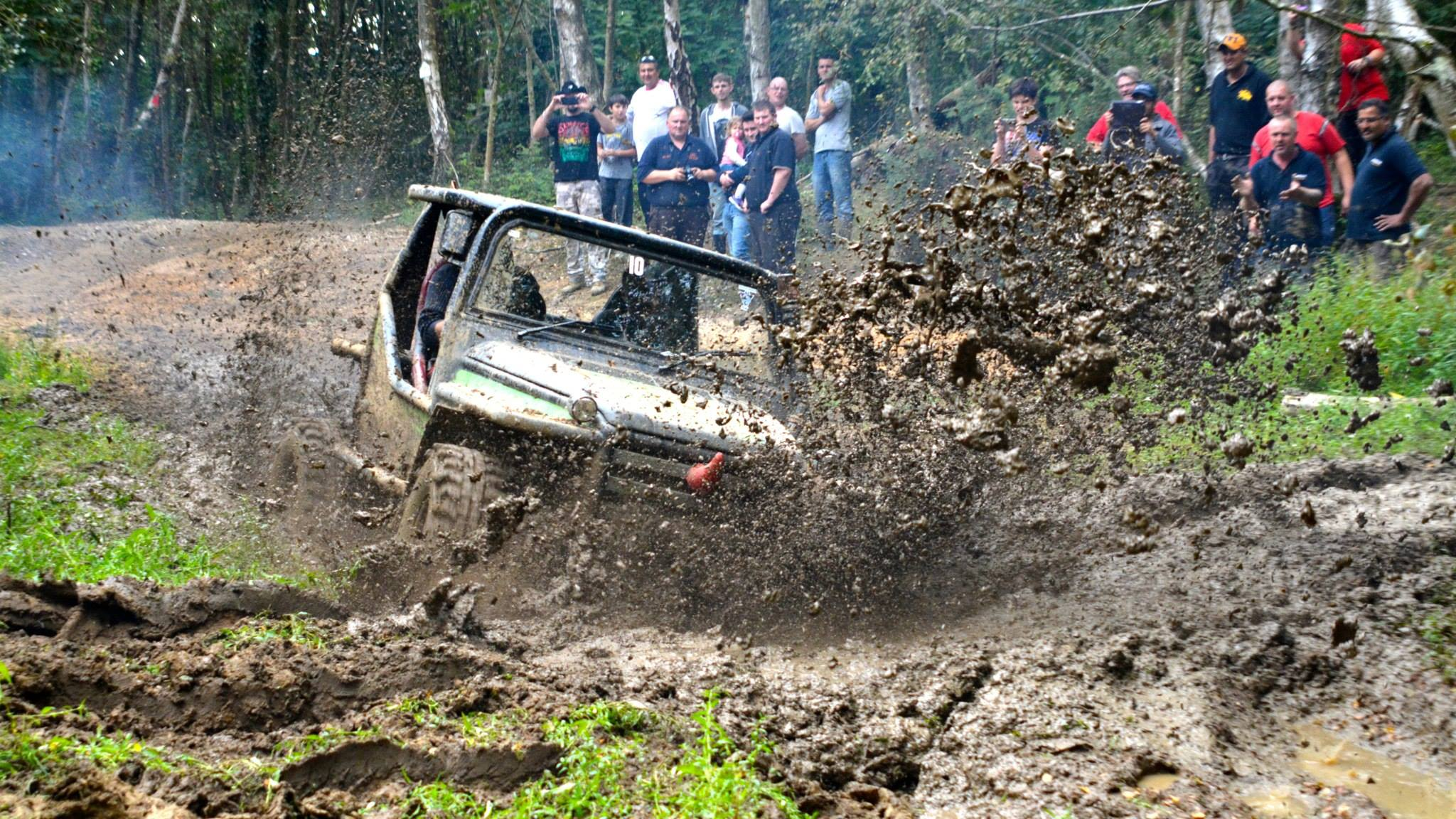 The annual UK Rhino Charge raises money for conservation projects in Kenya