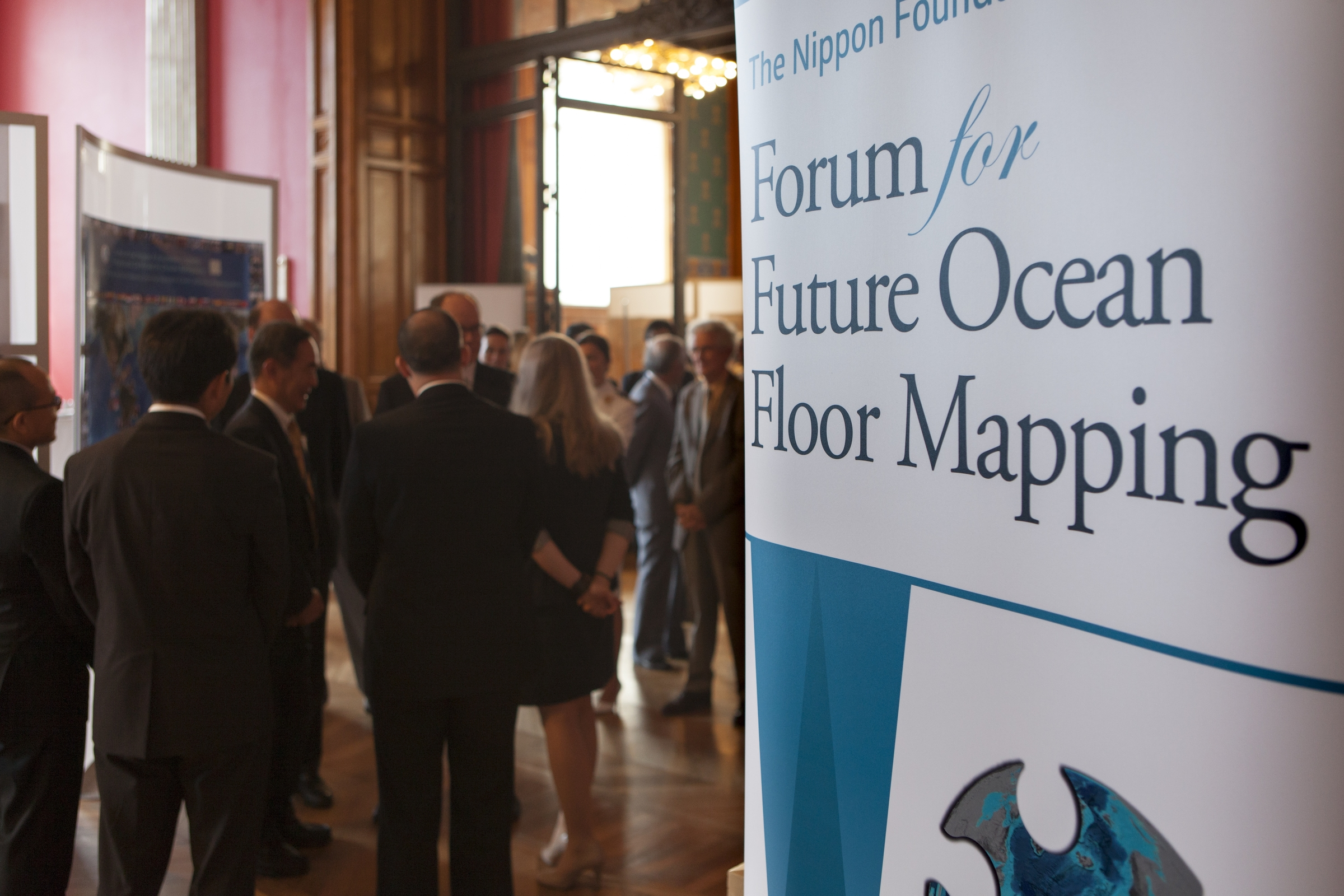 The Forum for Future Ocean Floor Mapping, held at the Oceanographic Museum in Monaco