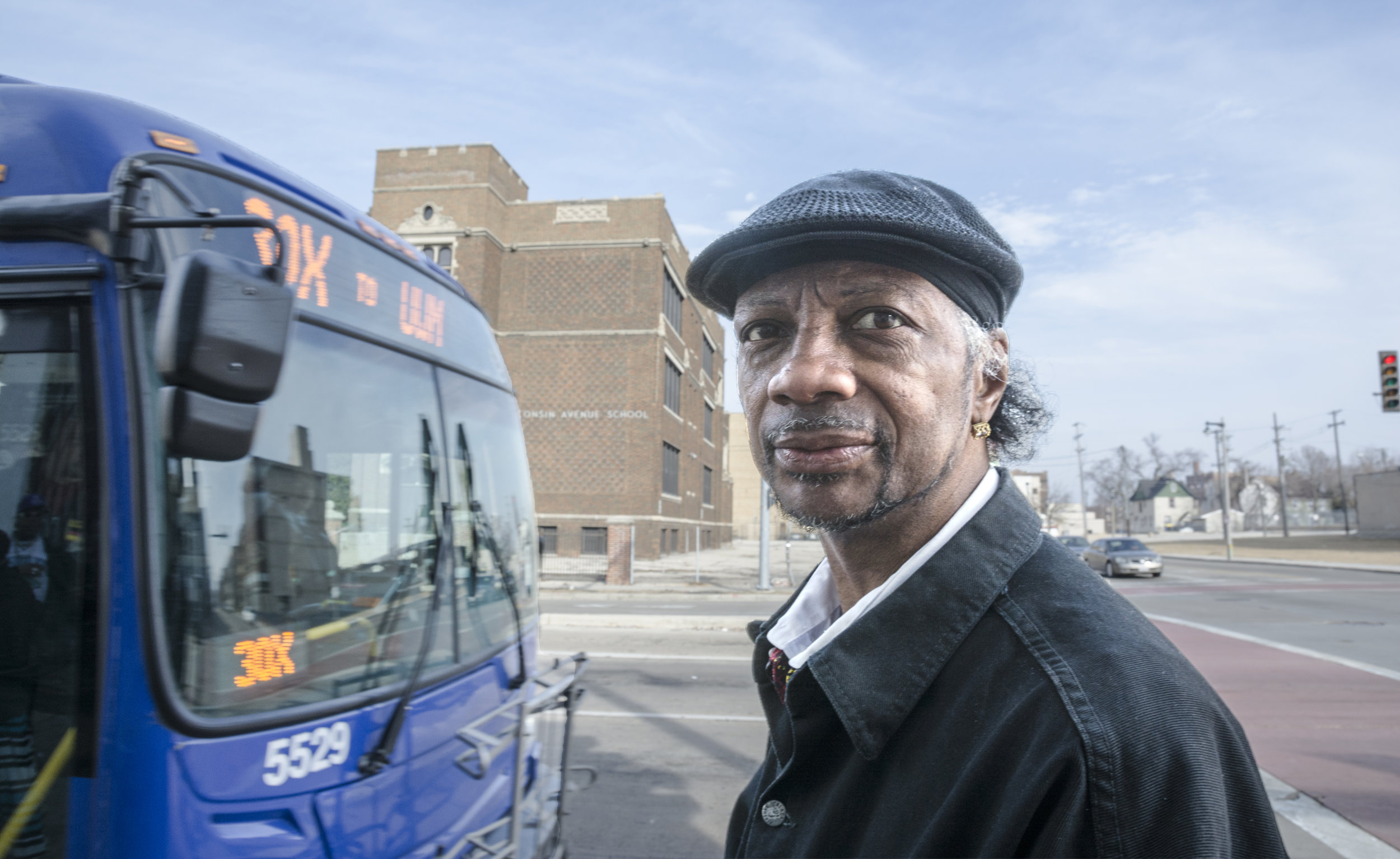 """Willis Jenkins, 53, was raised and still lives in Milwaukee's inner city. He works as a restaurant dishwasher and janitor. He regularly attends a Baptist Church. He told me, """"Everyday, I read my Bible. In fact, I can tell you something about every one of Jesus' disciples. They weren't all saints, believe me."""" A few years ago, Willis' daughter was killed in a car accident. He explained that his pain over that loss has brought him closer to God."""