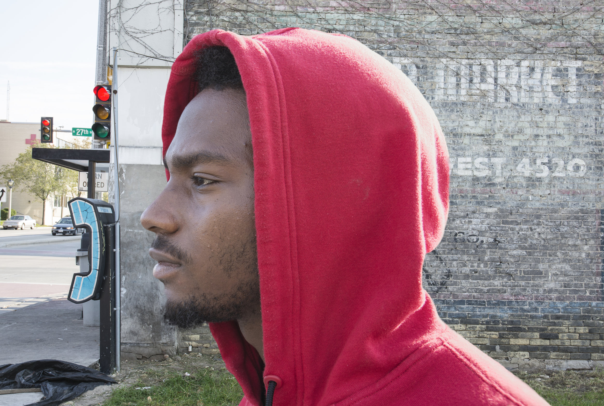 Ronnie grew up in the Milwaukee inner city,raised by aunts and relatives. He went to Bradley Tech High School and studied photography and medicine, neither of which he was later unable to earn a living. He now survives on welfare benefits.