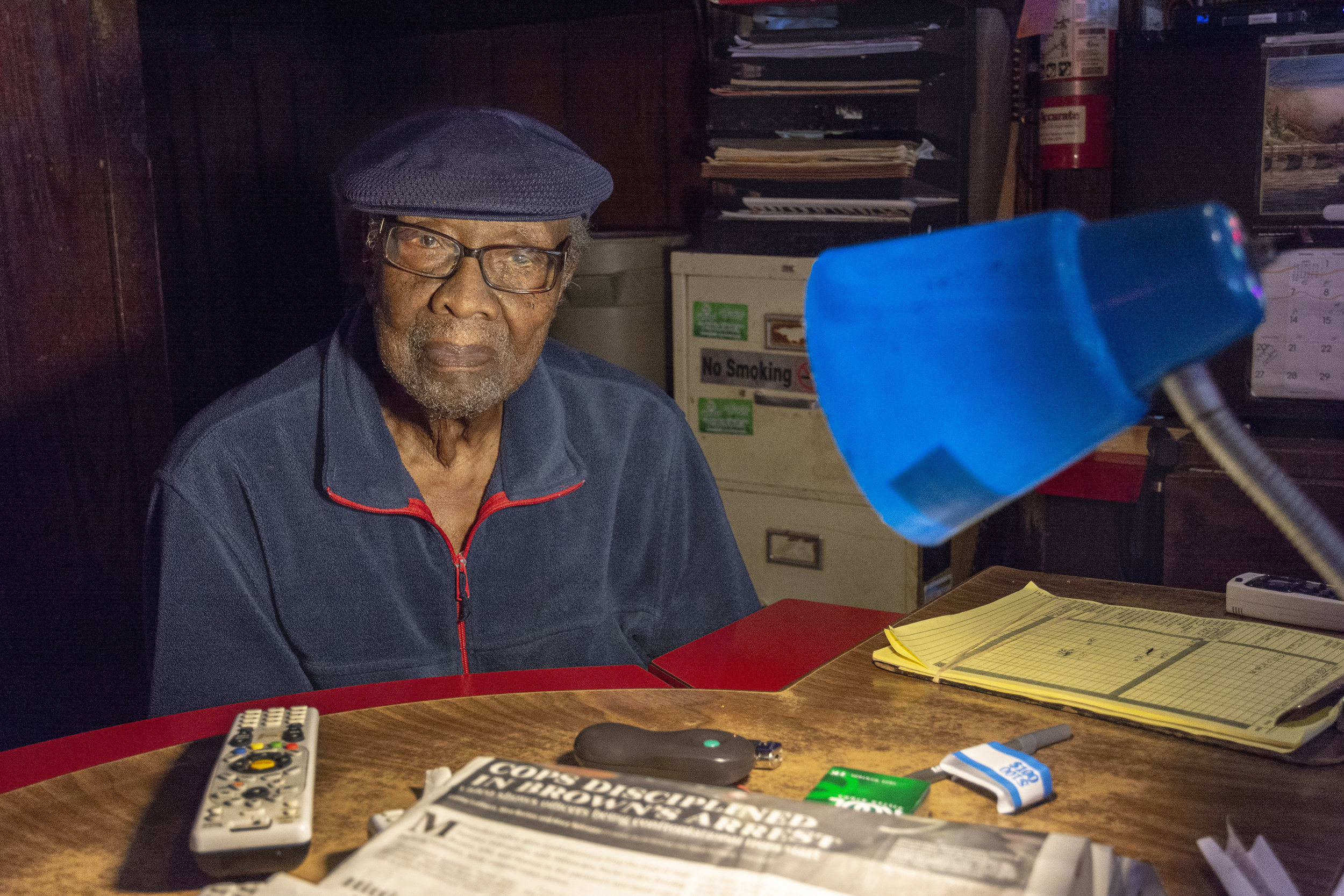 Warren Harper has owned and operated Warrens Lounge for 48 years. The lounge is located on the rim of one of Milwaukee's hardcore inner city neighborhoods where crime creates constant fear. Over the years, Warren has watched almost all the businesses on his block close down including a church. But his bar is still doing all right.
