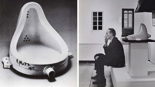 Marcel Duchamp The Avant Gardes Cropped.jpg
