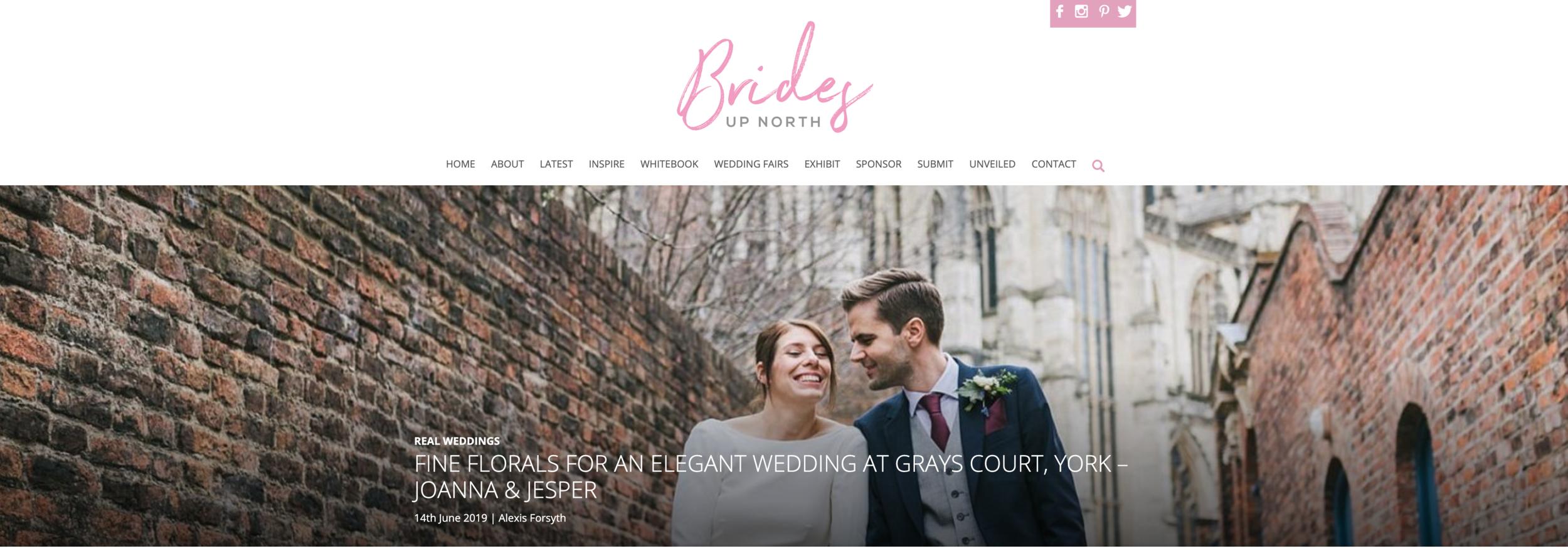 Joanna and Jesper's York City Wedding -