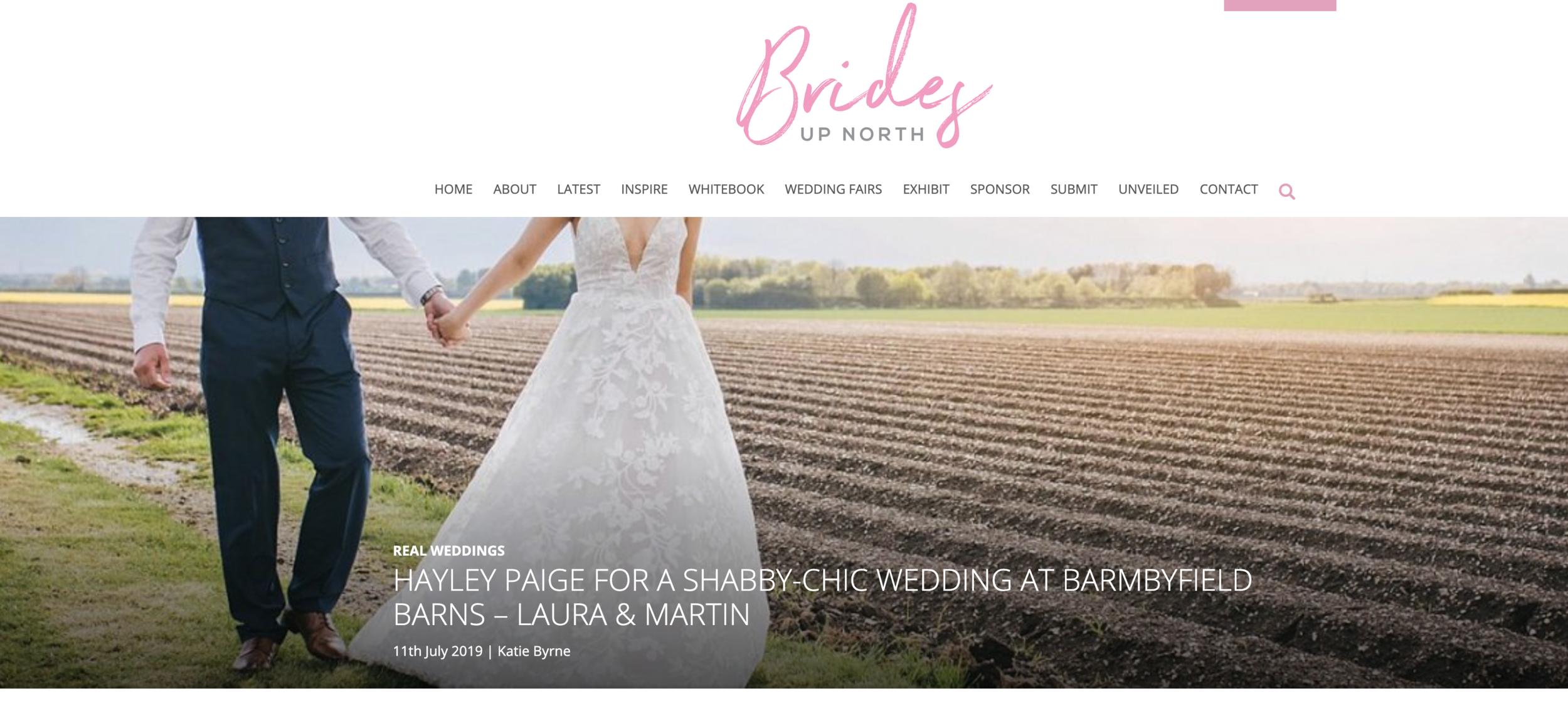 Laura and Martin's Barn Wedding Near York -